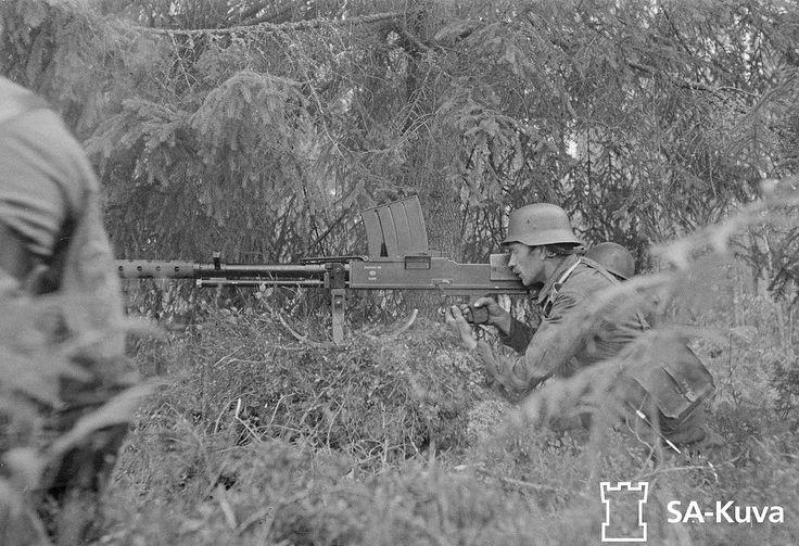 Finlande, Le très rare fusil antichar finlandais Lahti L-39   by ww2gallery