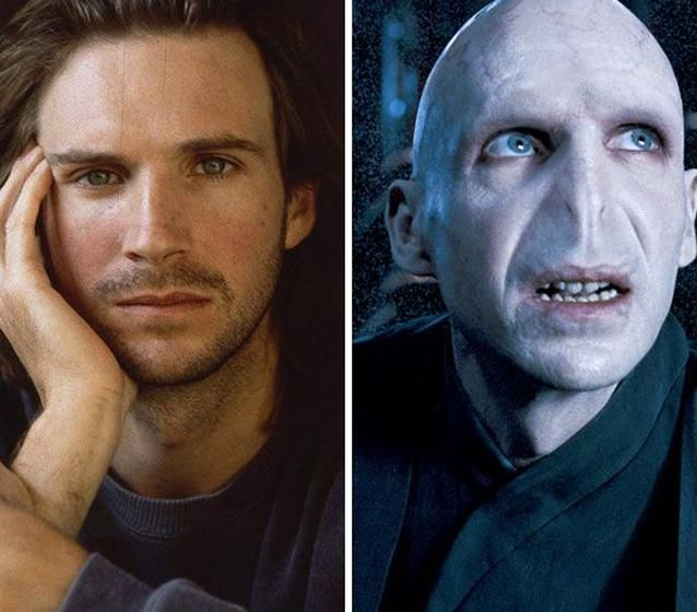 Ralph Fiennes Lord Voldemort Harry Potter Series In 2020 Movie Makeup Ralph Fiennes Harry Potter Characters