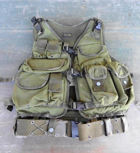 Vintage OD Navy Seal LBT Tactical Vest