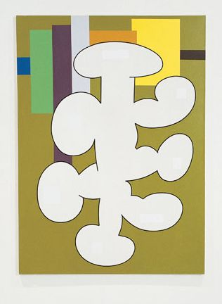 Olivier Gourvil, Ipso, 2002, oil and acrylic on canvas, 188 x 137 cm