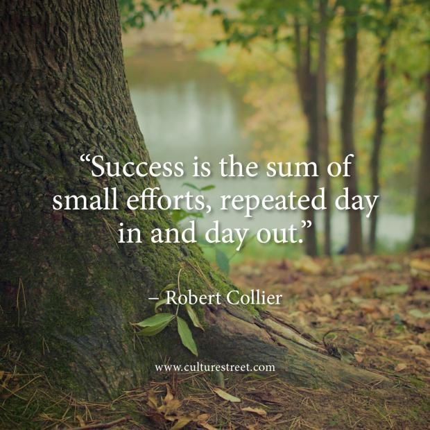 Culture Street   Quote of the Day from Robert Collier