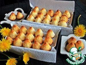 Кокосовое печенье Конусы