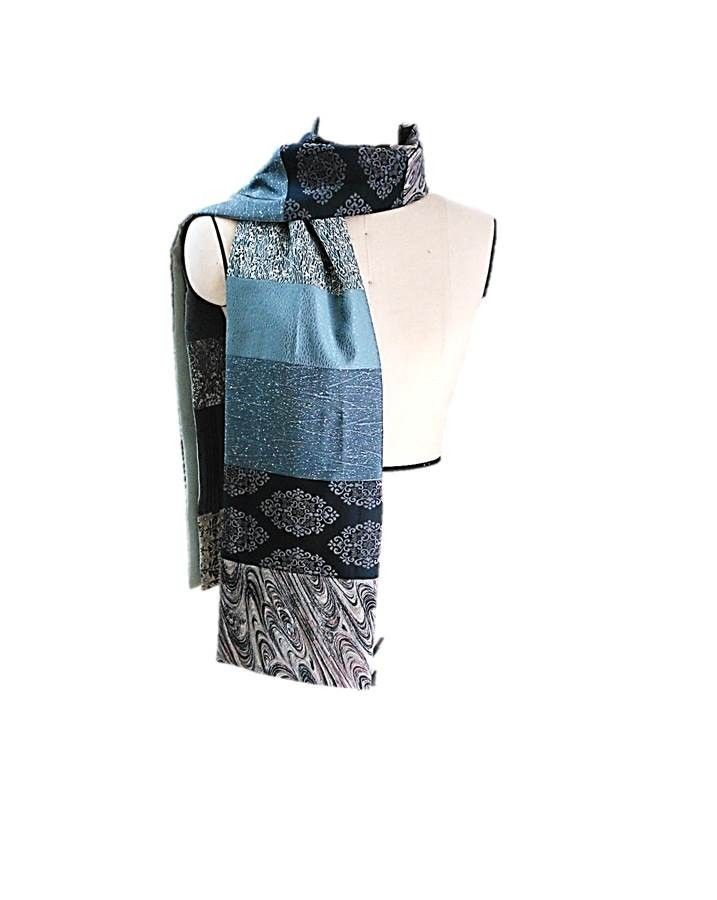 2014 S/S COLLECTION  vintage kimono patchwork scarf