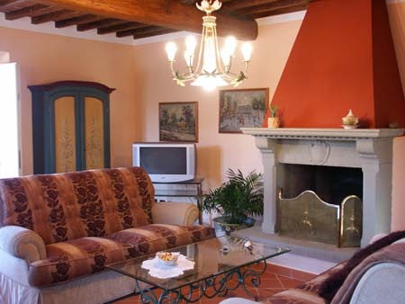 Holiday Home Le Due Lanterne:The living room