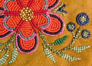 Métis beading at St. Albert Place Settlement | Beaded ...