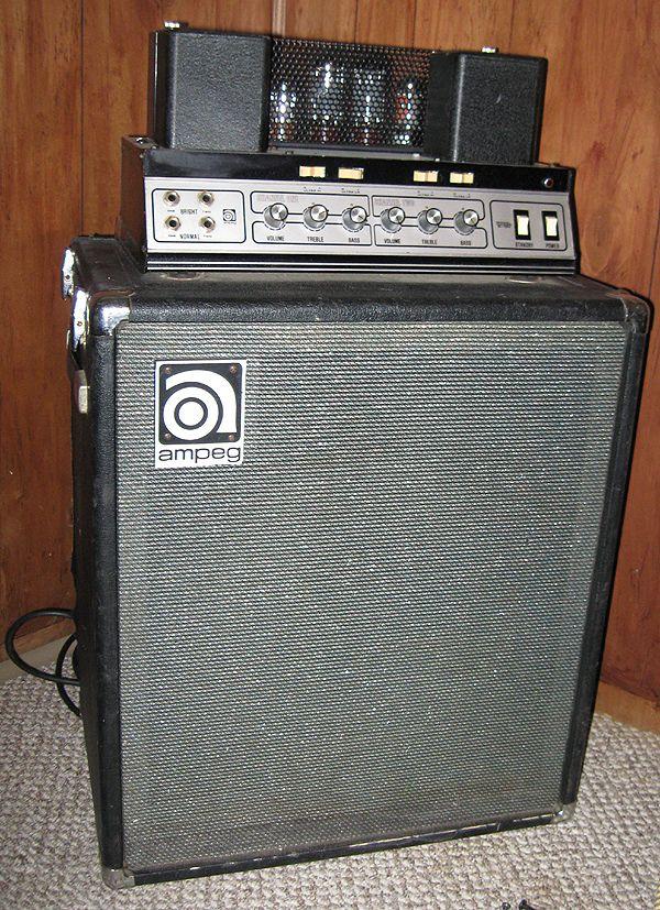 vintage ampeg bass amps - Google Search