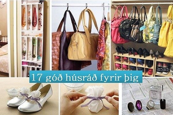 17 frábær húsráð fyrir þig