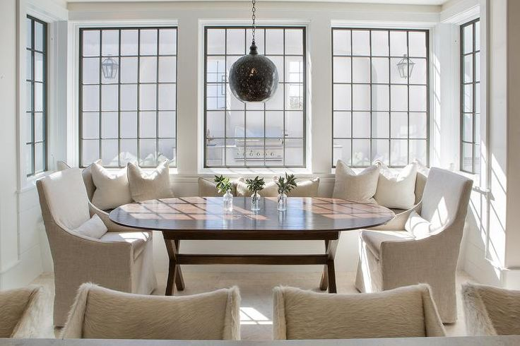 1000+ Ideas About Dining Room Banquette On Pinterest