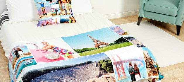 Save 64% on a Fleece Photo Blanket + free shipping.