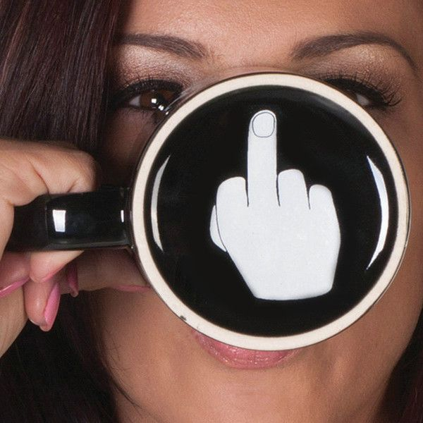 Middle Finger Coffee Cups Personality Office Gifts Have A Nice Day Mug                                                                                                                                                                                 More