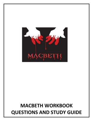Macbeth Workbook and Study Guide