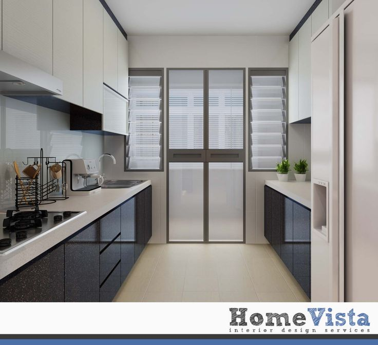 Interior Design For Kitchen For Flats: 4 Room BTO - Yishun HDB BTO - HomeVista