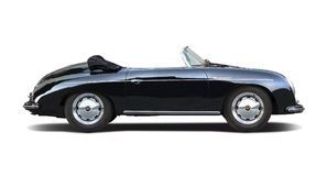 Classic Porsche Speedster 356 On White - Download From Over 52 Million High Quality Stock Photos, Images, Vectors. Sign up for FREE today. Image: 56316264