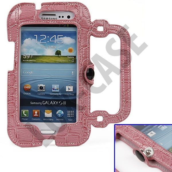 Raptor Purse (Lys Rosa) Samsung Galaxy S3 Leather Case