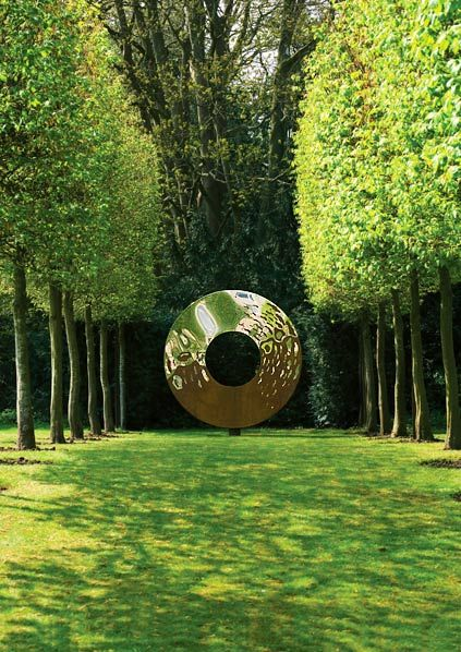 Portal metal garden sculpture - The Portal is one of the Heaven and Earth series…
