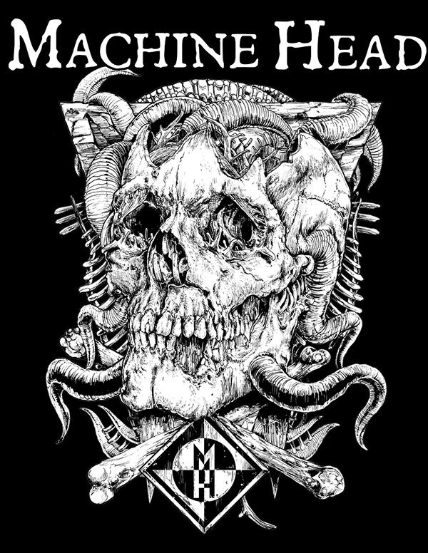 Machine head on behance
