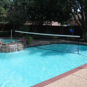 Custom Swimming Pool Volleyball Nets