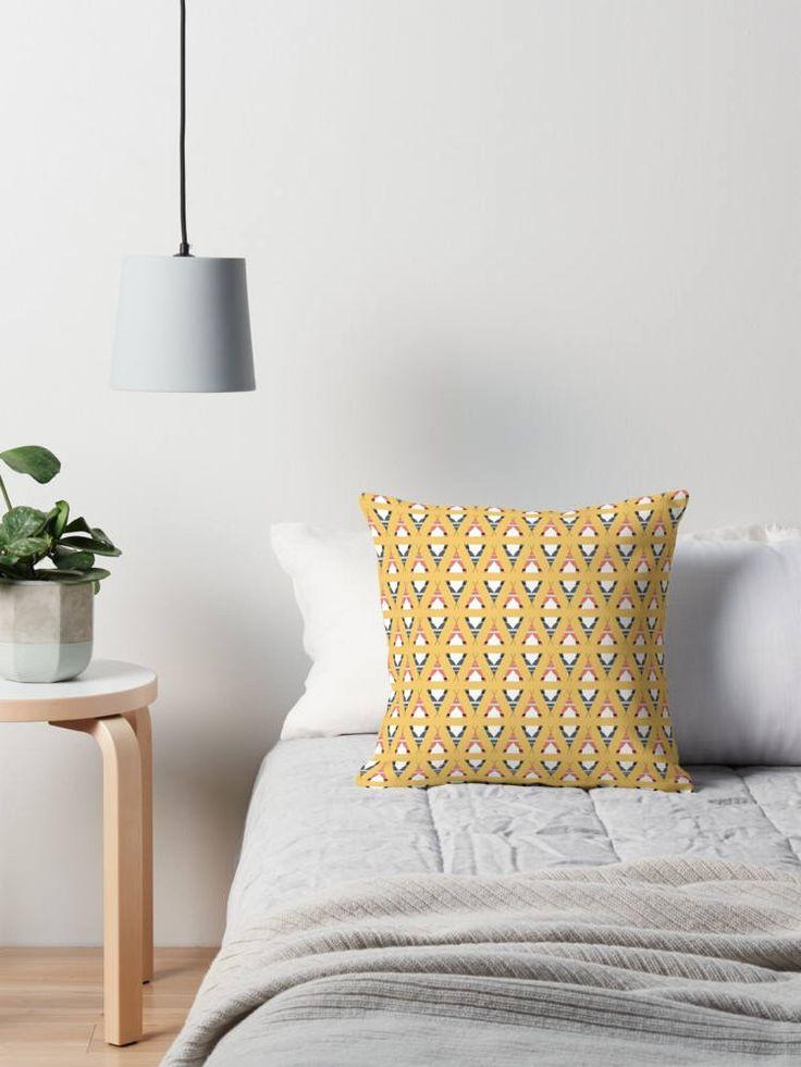 Yellow Teepee cushion, Yellow cushion, Camping, Yellow scandi nursery, Teepee cushion, Grey decor, Yellow nursery cushion, Throw pillows by ShadowbrightDesigns on Etsy https://www.etsy.com/uk/listing/563848113/yellow-teepee-cushion-yellow-cushion