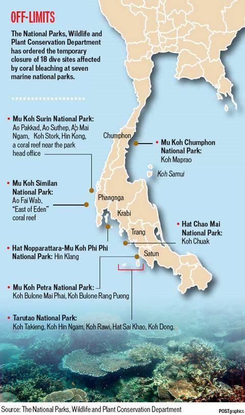 Plongée Similan Islands et Richelieu Rock : Compte rendu de voyage