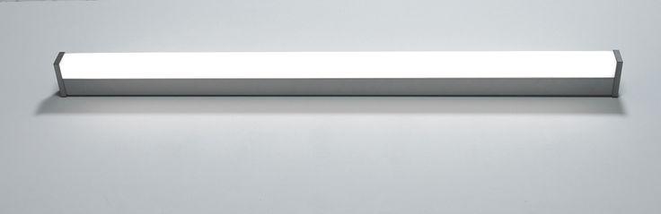 V.IP44 mirror lighting 1232 x 900 x 450 mm - alu