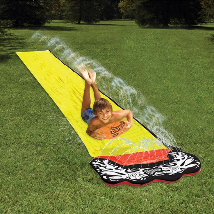 4.8m Giant Surf 'N Slide PVC Play Center Water Slide For Kids Summer Fun Backyard Outdoor Pool Toys Swimming Pool Games