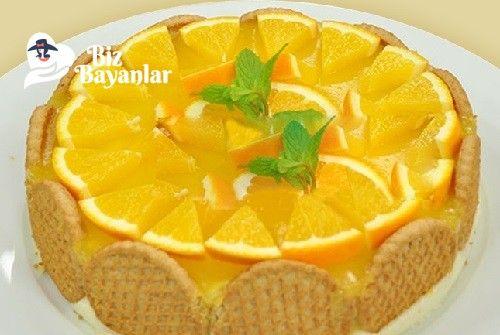 Portakallı Bisküvili Pasta Tarifi nasıl yapılır? Portakallı Bisküvili Pasta Tarifi malzemeleri, aşama aşama nasıl hazırlayacağınızın resimli anlatımı ve deneyenlerin yorumlarıyla burada