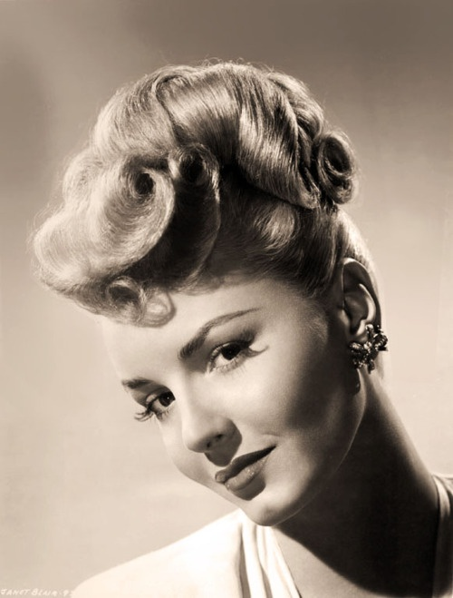 Janet Blair <3 1940's
