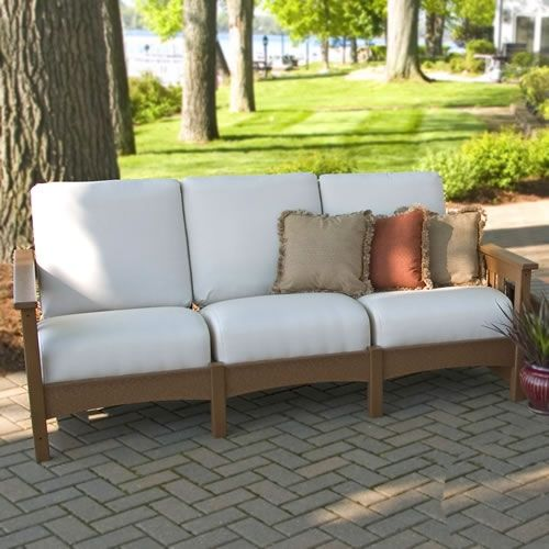POLYWOOD Club Mission Sofa 285800 Porch FurnitureShower IdeasSofas