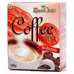 Buy Robusta Coffee Powder in Online for lowest price. Best quality & delicious flavor - http://www.thespiceclub.in/index.php/robusta-coffee-powder.html