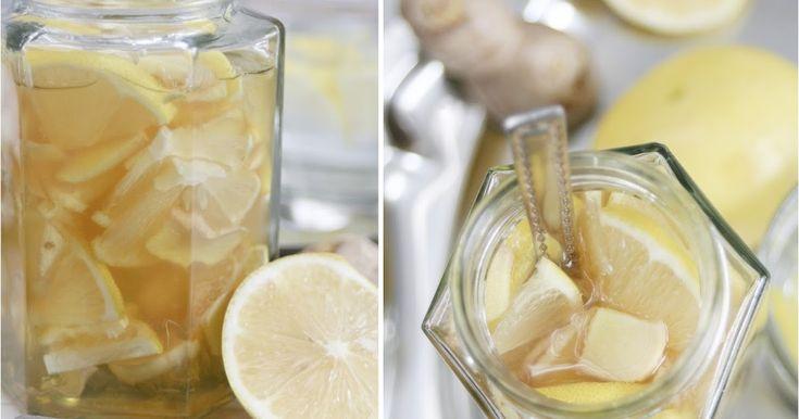 Domowy syrop wspomagający odporność i leczenie przeziębienia.