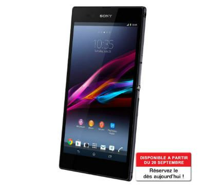 SONY Xperia Z Ultra noir Téléphone portable sans abonnement prix promo Boulanger…