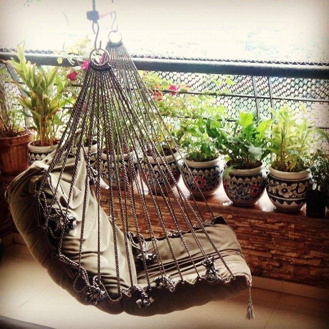 20идей, как обустроить балкон летом