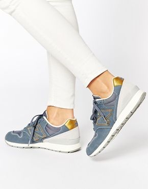 New Balance 996 Washed Gray Nubuck Sneakers