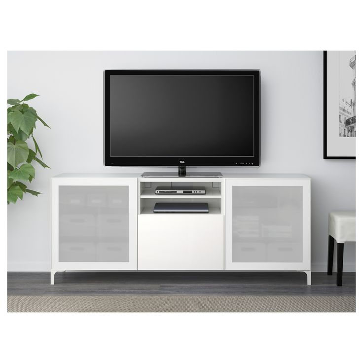 best tv unit with drawers white selsviken frosted glass