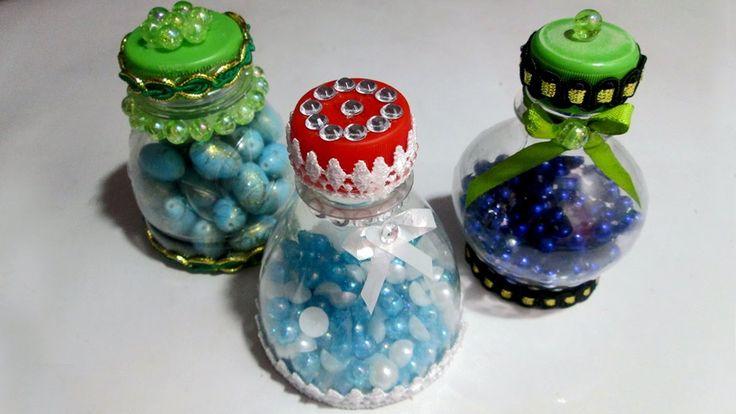 Баночки из пластиковых бутылок