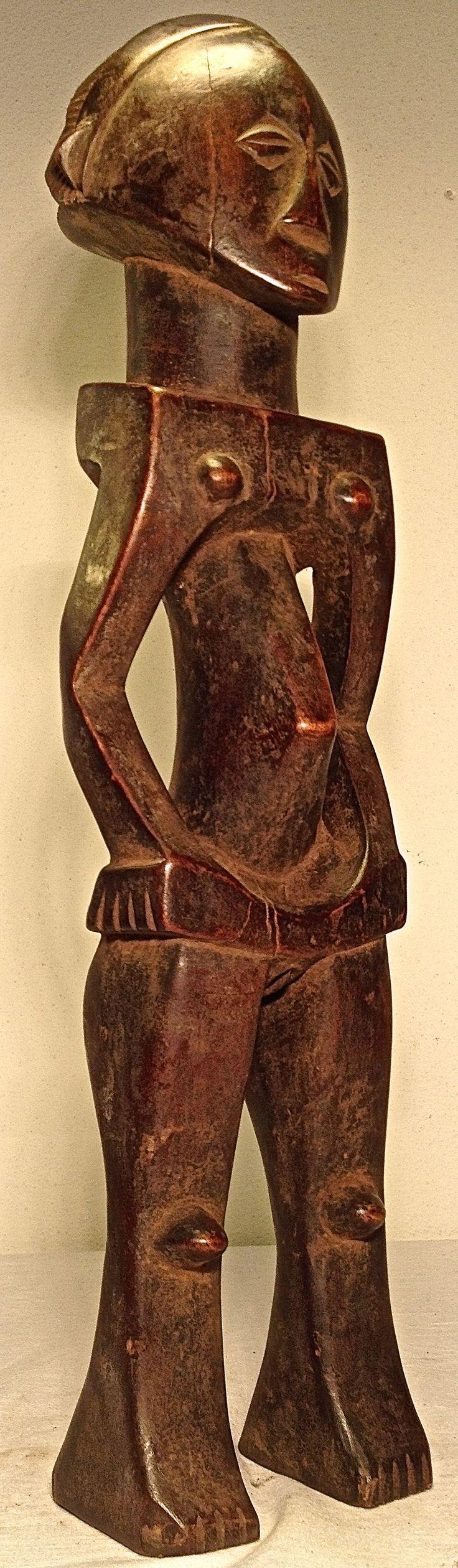 Luba Shankadi female figure