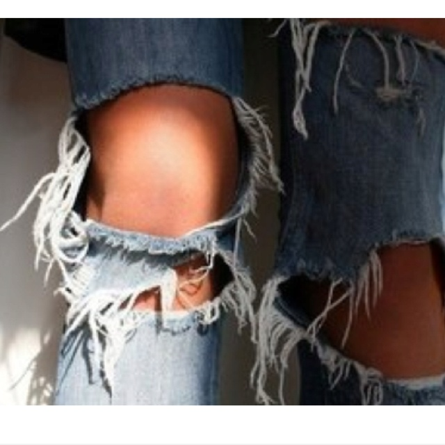Ripped Jeans Selber Machen Best 25+ Holey Jeans Ideas On Pinterest | Rain Trench Coat