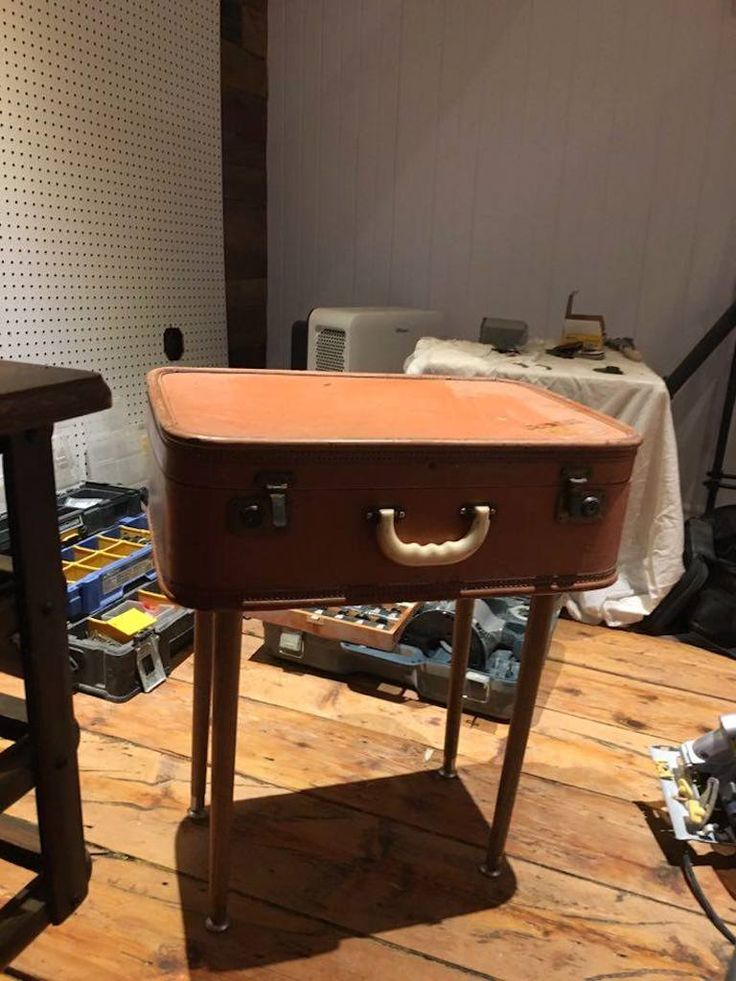 1000 id es sur le th me table valise sur pinterest for Table valise