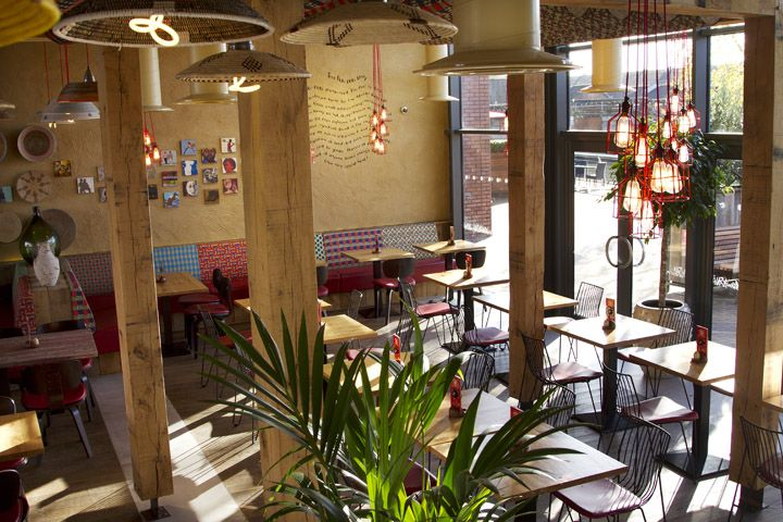 Nandos restaurant by B3 Designers Leigh Nandos restaurant by B3 Designers, Leigh UKNandos Restaurants, Design Leigh, Bar Design, Retail Design, Design Restaurants, Nandos Leigh, B3Design, B3 Design, Architecture Design