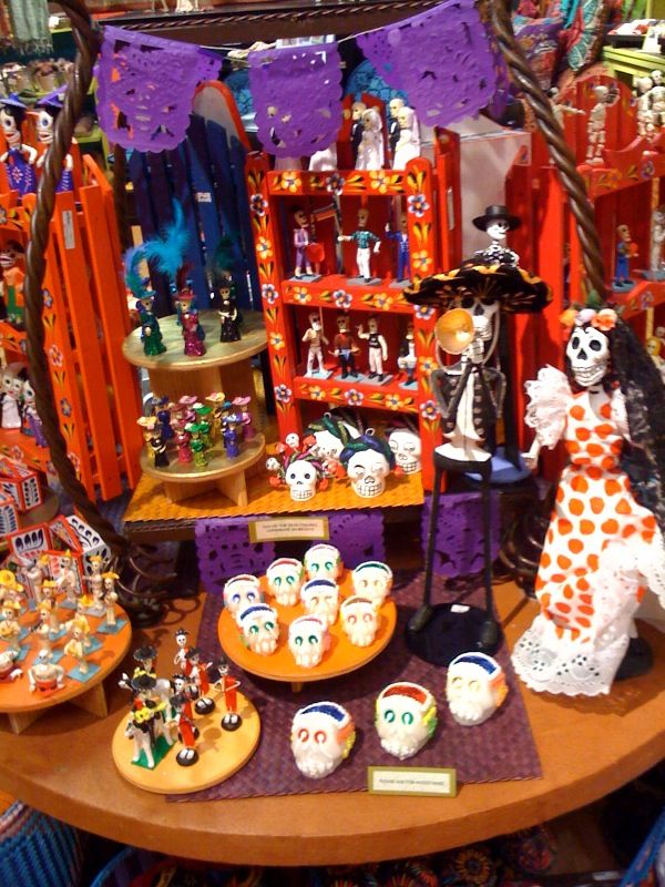 39 best images about dia de los muertos on pinterest for Day of the dead craft supplies