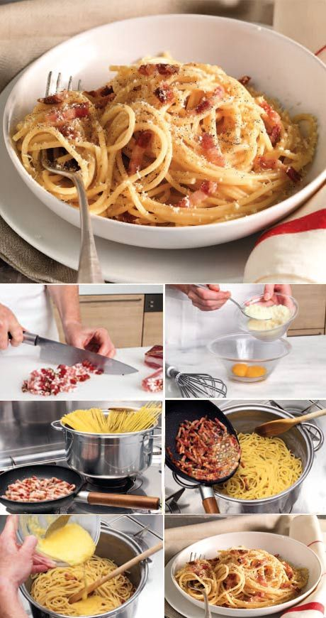 La Cucina Italiana - Ricetta regionale: spaghetti all carbonara
