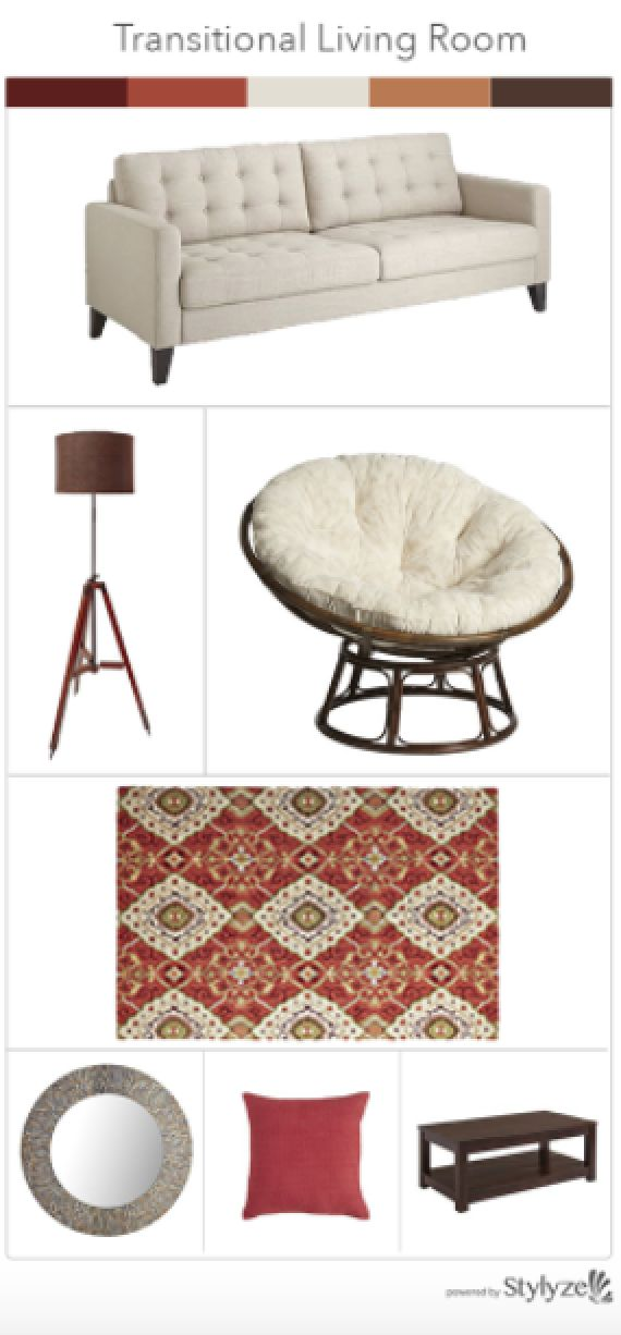 How To Style A Transitional Living Room From Pier 1 Imports