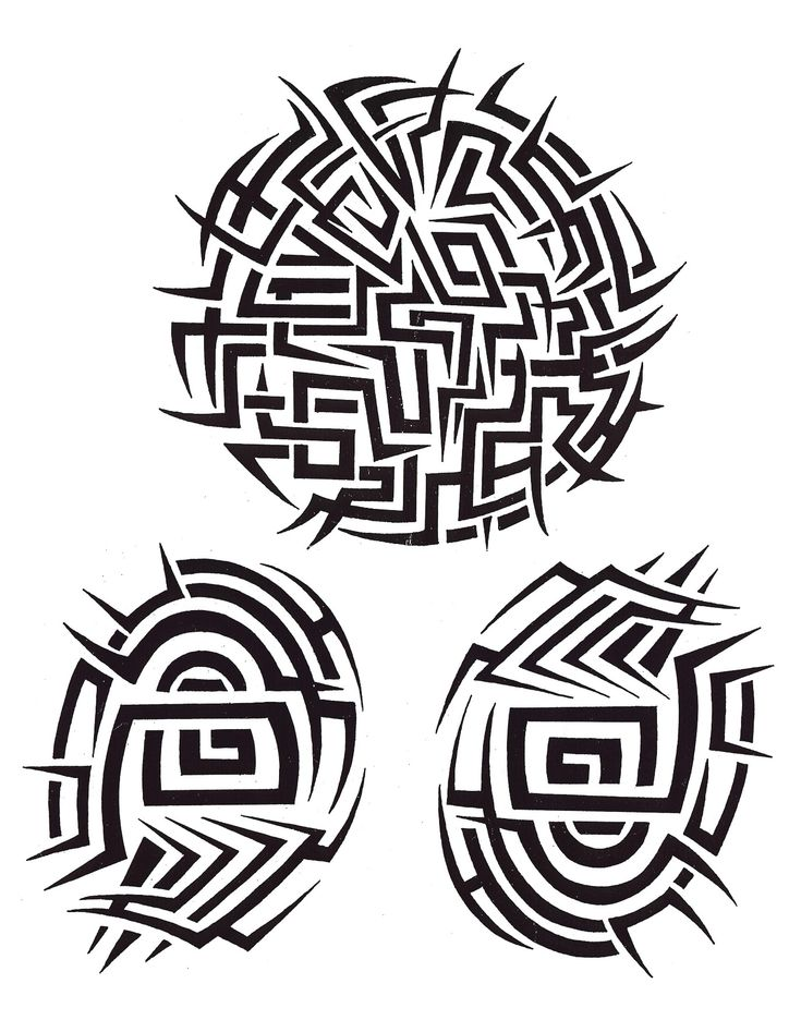 Maori #Tribal Tattoo Designs