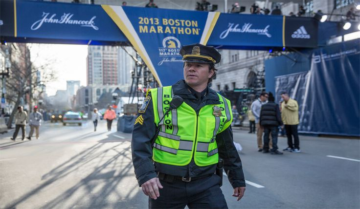 "Patriots Day : ""New Movie Trailers""      In Theatres : 13th January 2017 (USA), 24th February 2017 (UK)     Director : Peter Berg     Producers : Scott Stuber, Mark Wahlberg, Hutch Parker, Dylan Clark, Stephen Levinson, Dorothy Aufiero and Michael Radutzky     Writers : Matt Cook, Peter Berg     Cast : Mark Wahlberg, Kevin Bacon, John Goodman, J.K. Simmons, Michelle Monaghan, Alex Wolff, Themo Melikidze, James Colby, Michael Beach, Rachel Brosnahan, Christopher O'Shea"