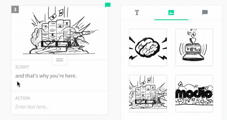 Plot, free storyboarding software, uses drag & drop simplicity.