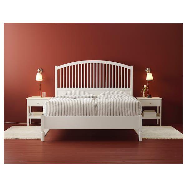 Tyssedal White Bedside Table 51x40 Cm Ikea In 2020 Ablagetisch Nachttisch Ideen Nachttisch Weiss