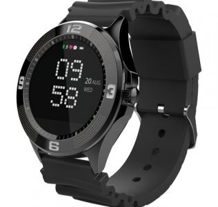 Branded Smartwatch with a modern, unique design. hands-free function & Free app