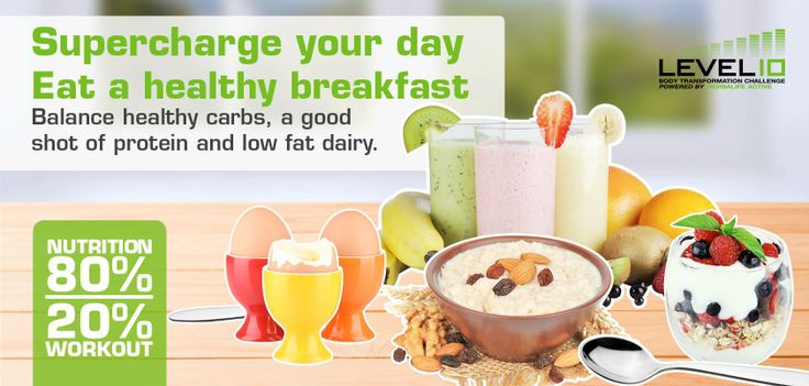 #Breakfast is really the most important #meal of the day. So make sure to eat only  a #healthy pack breakfast!