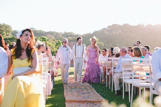 Casamento | Tati + Julio | Vestida de Noiva | Blog de Casamento por Fernanda Floret