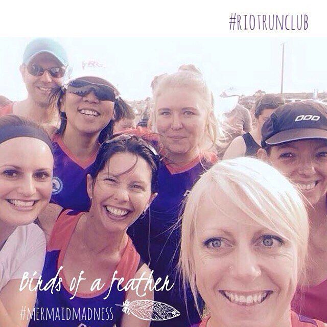 """by @running_with_renee. RIOT Run Club we are a running club with members from all different walks of life ages & abilities united by our passion for running... We are a community of """"crazy runners"""" there is a beautiful solidarity in our group 